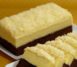 Resep Cake Ubi Cokelat Keju