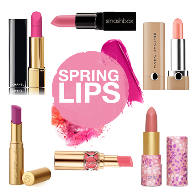 Lip colors for spring 2015