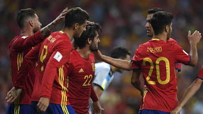 Duo Madrid di Balik Kemenangan Spanyol di Bernabeu