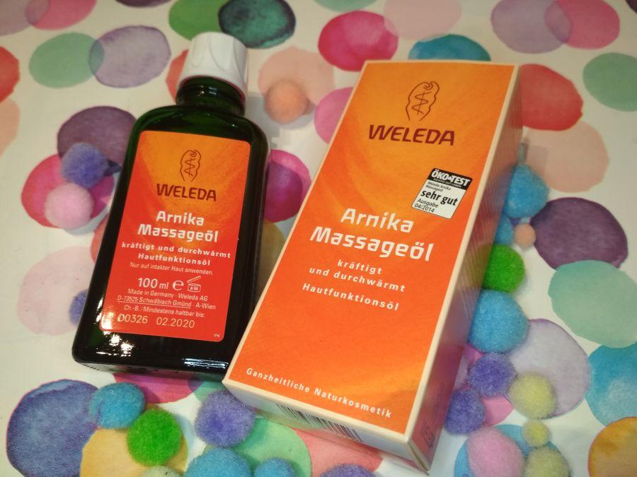 Body Care Arnica Massage Oil