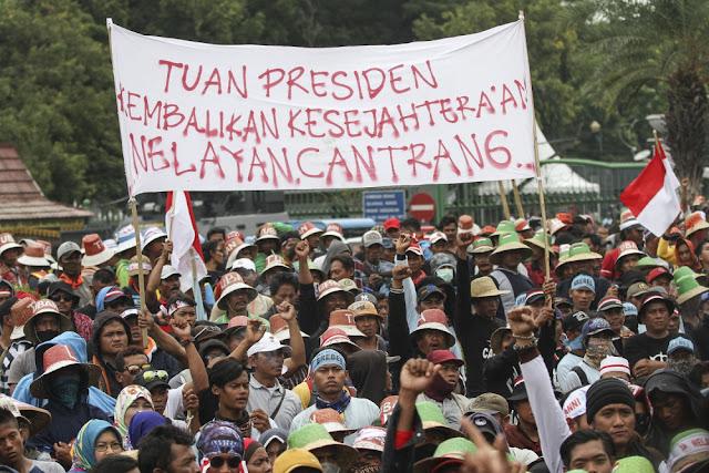 Jokowi Legalkan Cantrang Demi Suara Nelayan di Pilpres 2019?