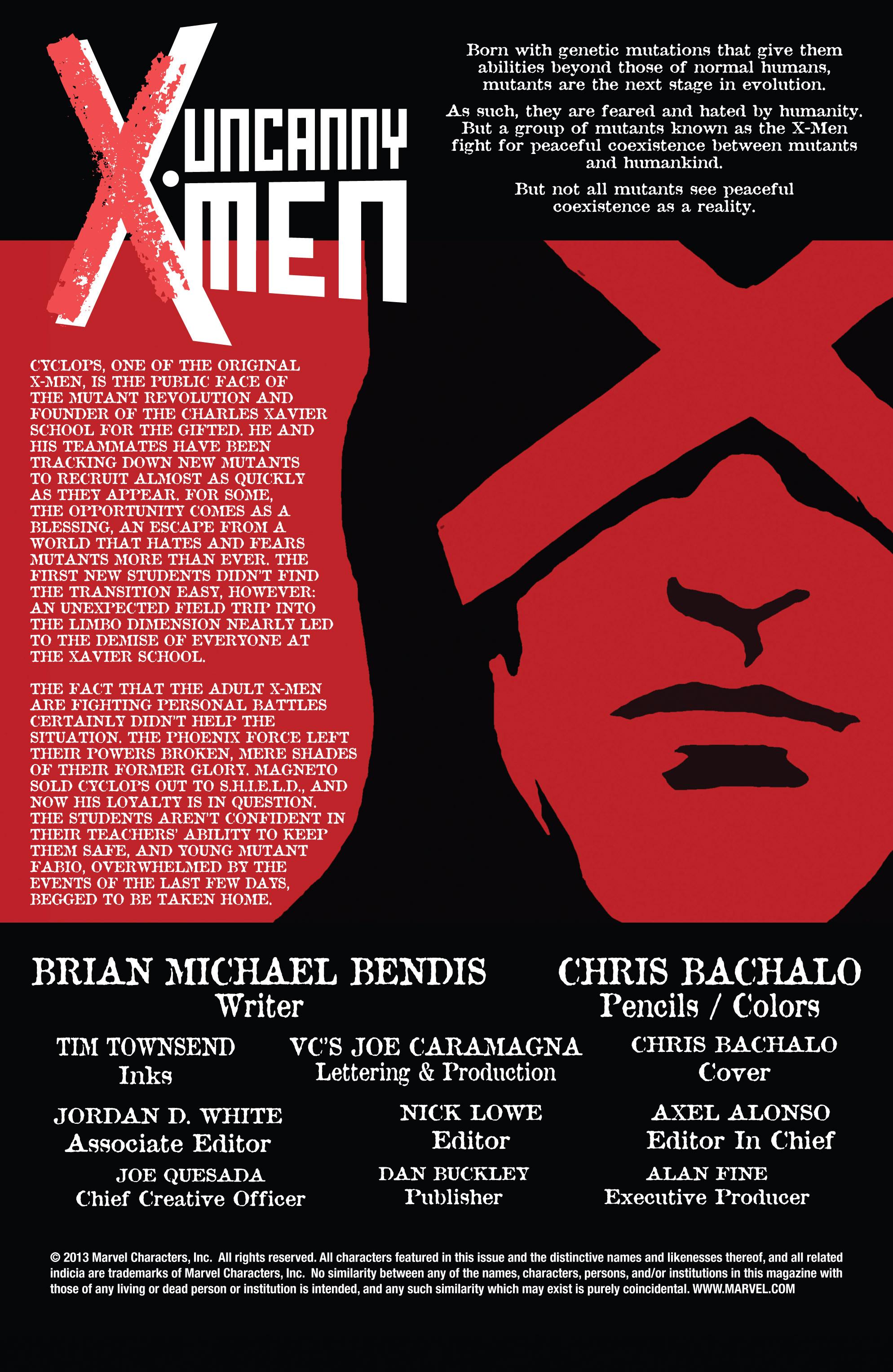 Read online Uncanny X-Men (2013) comic -  Issue # _TPB 2 - Broken - 41
