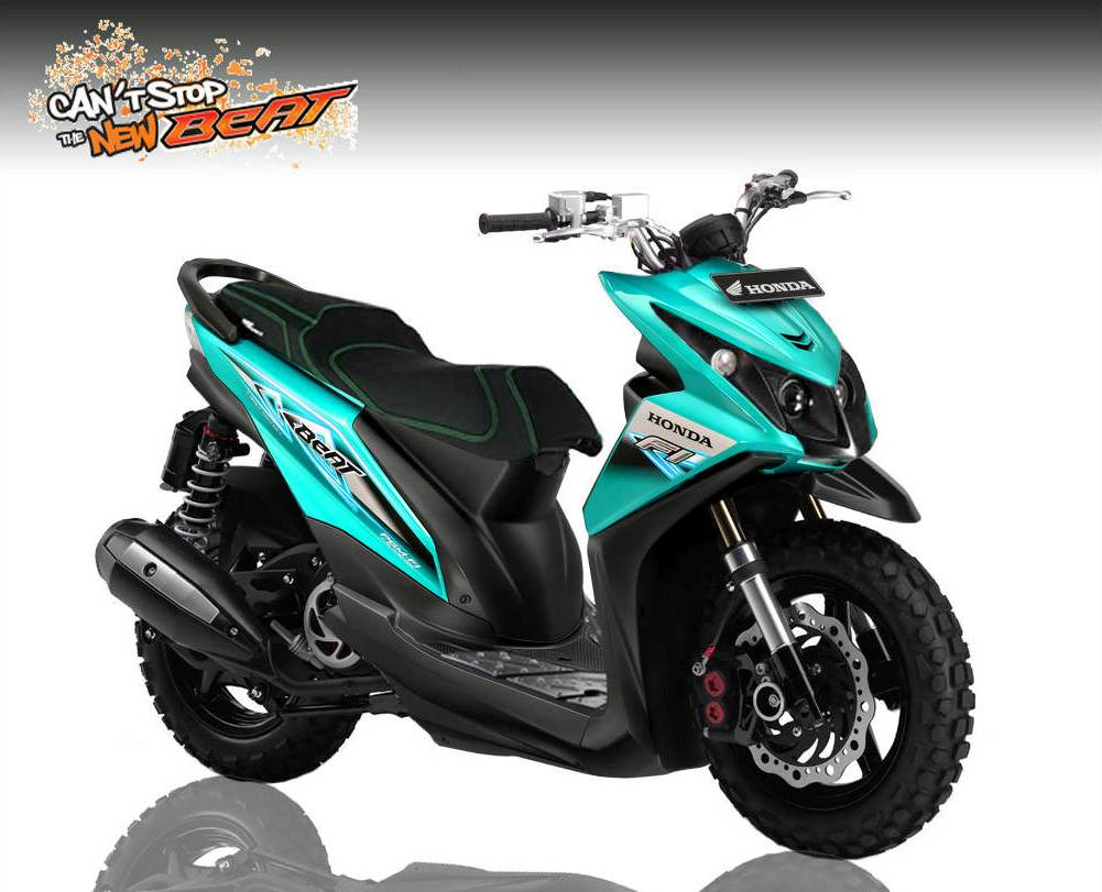 Kumpulan Modifikasi Motor Honda Beat  Negeri Info