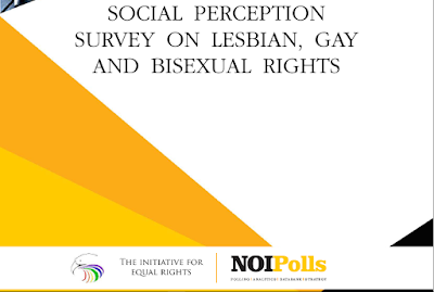 Acceptance Rate Of Lesbians, Gays And Bisexuals in Nigeria Is On The Rise - NOIPolls