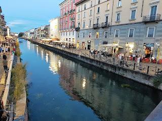 mysiga områden i Milano