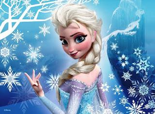 Foto gambar Elsa Frozen