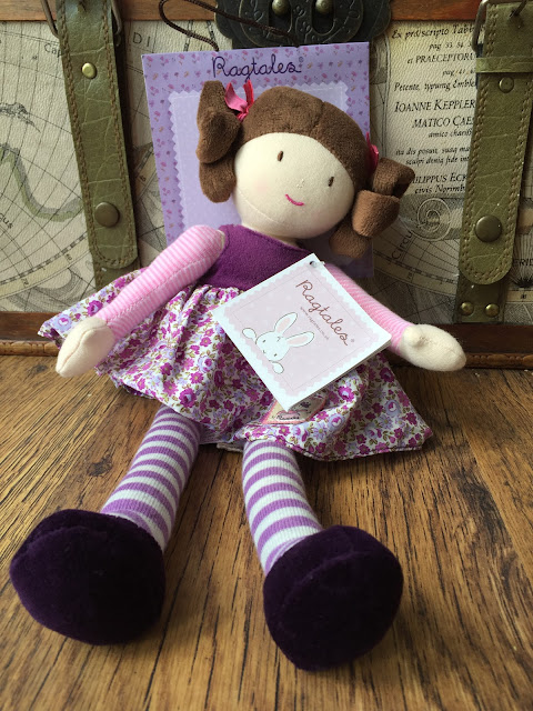 Tilly the Rag Doll by Ragtales from Little Chickie