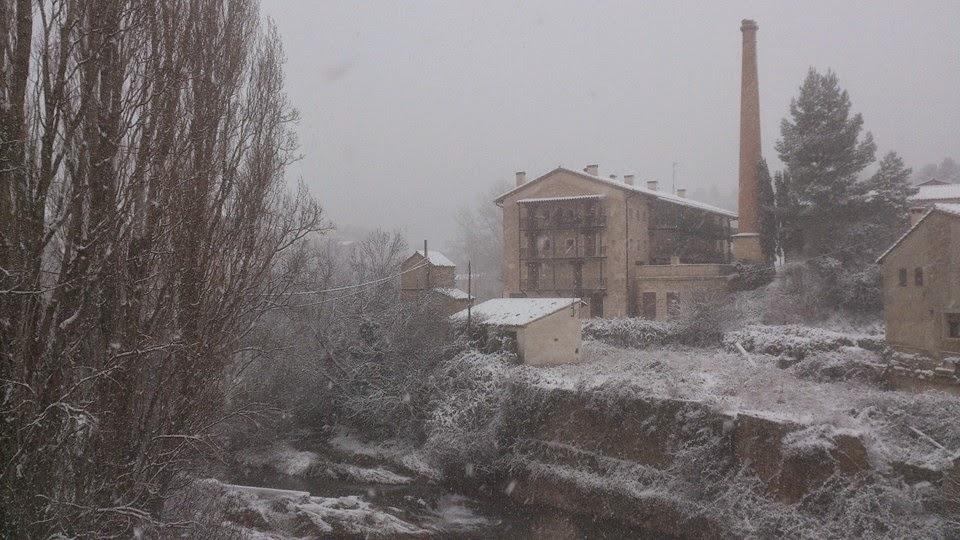 beceite beseit, nieve, Nieva en Beceite, neu a Beseit, aneu a Beseit, Beseit 4