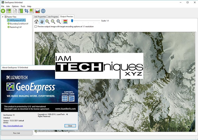 LizardTech GeoExpress Unlimited v10.0