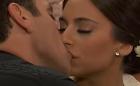 A Que Não Podia Amar: Rogério e Ana Paula se casam e se beijam pela primeira vez