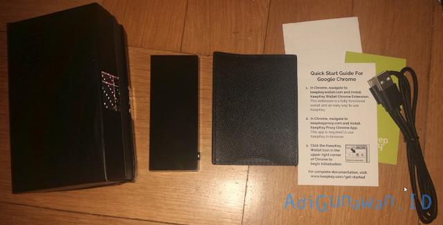 Keamanan Perangkat Wallet KeepKey