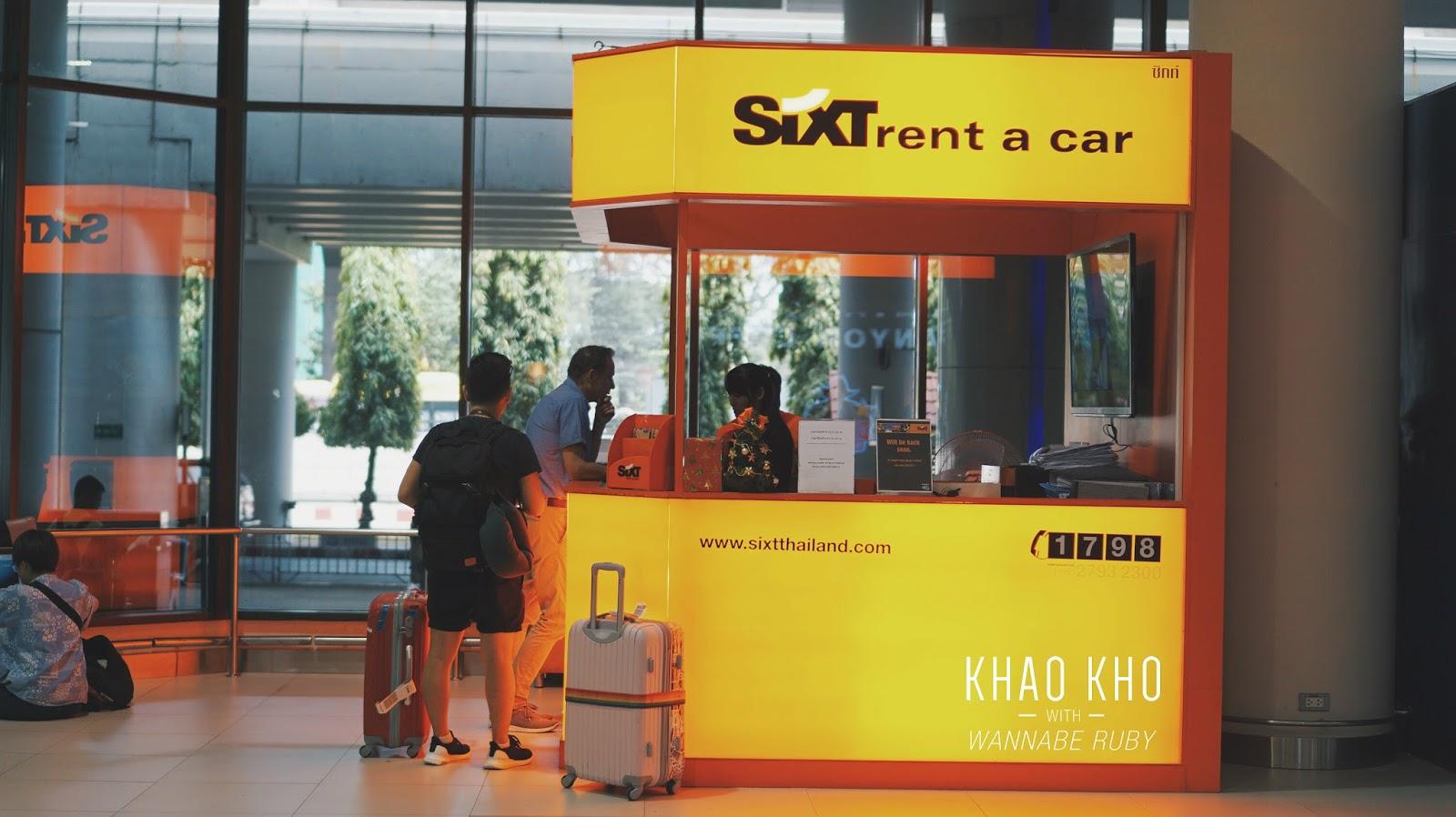 Sixt Car Rental Bangkok Airport