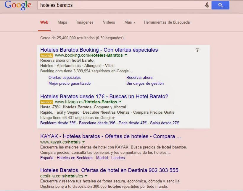 donde estan seo y sem en google