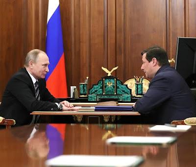 Vladimir Putin, Alexander Khloponin.