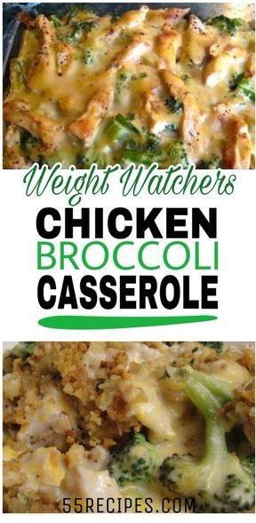 Skinny Chicken Broccoli Casserole