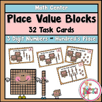 Place Value Blocks to Hundreds place