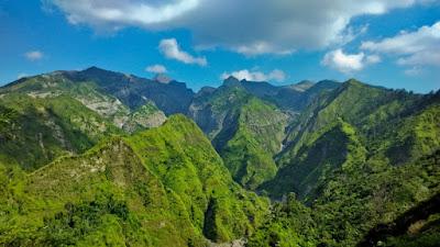 Bukit Kura-kura Ongakan - Memandang Lukisan Cantik Alam Gunung Kelud