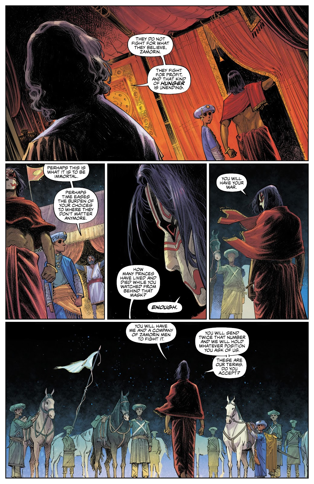 Read online These Savage Shores comic -  Issue #3 - 15