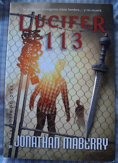 Portada del libro Lucifer 113, de Jonathan Maberry
