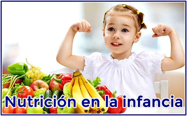Recomendaciones nutricionales en la infancia