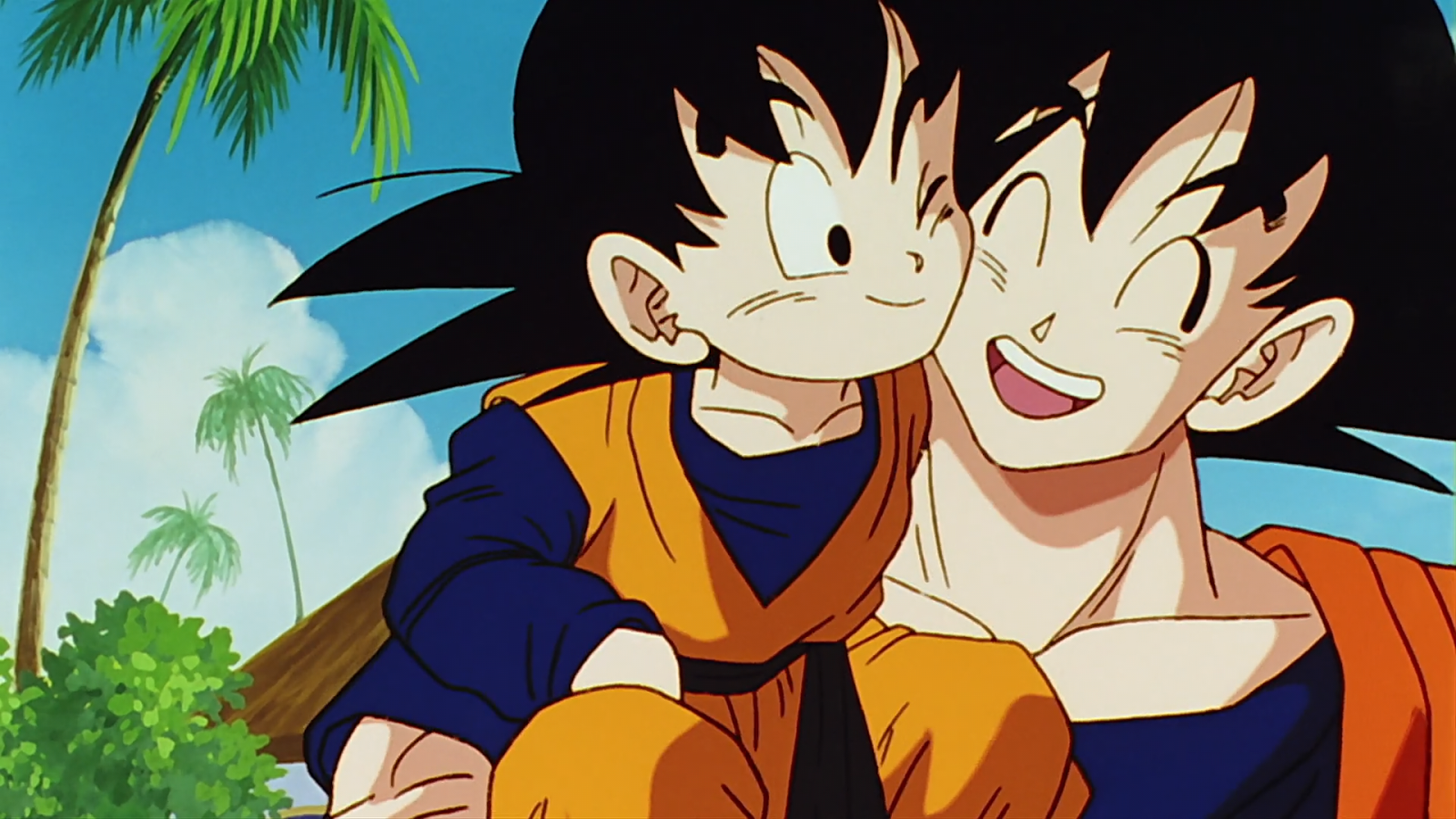 Vegeta Trunks And Goku Goten