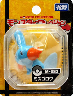 Mudkip figure Takara Tomy Monster Collection M series