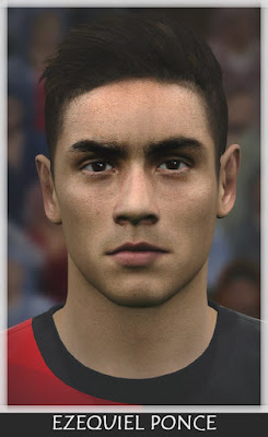 PES 2016 Ezequiel Ponce (Lugano) Face by Bono Facemaker