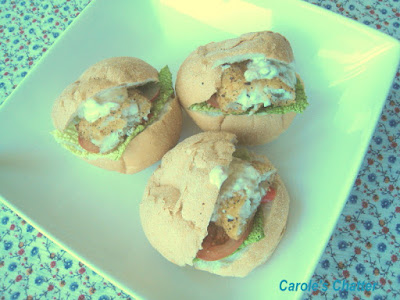 Carole's Chatter: Cheat's Fish Burgers – Another Whirl