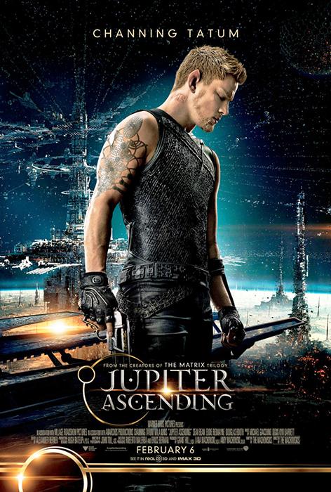 Poster Jupiter Ascending: Channing Tatum