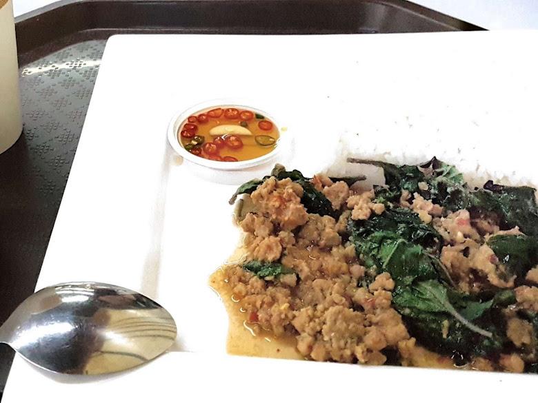 午餐泰式打拋豬肉(?)