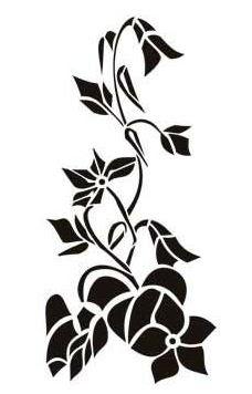 Pintar con plantillas cositasconmesh - Plantillas decorativas para pintar paredes ...