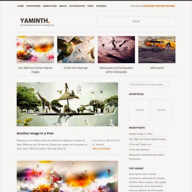 YAMINTH WordPress Theme