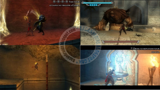 Prince Of Persia The forgotten Sands ISO CSO PPSSPP