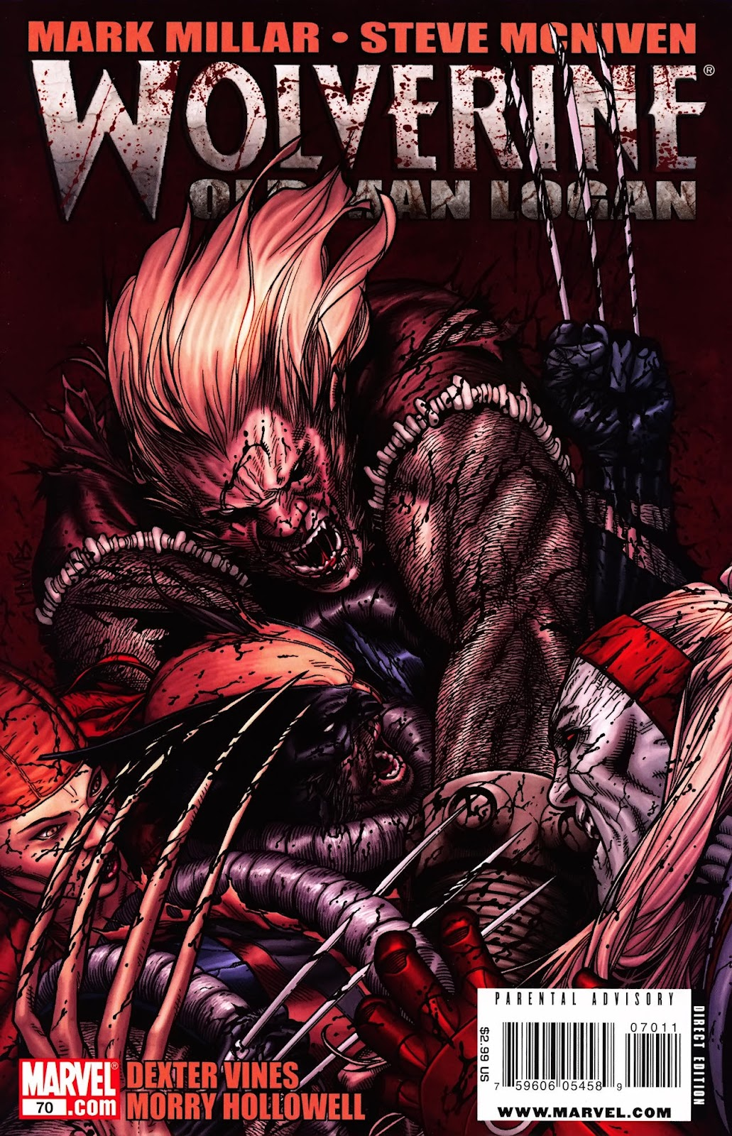 Read online Wolverine (2003) comic -  Issue #70 - 1