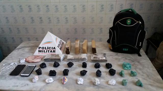 Batalhão da Polícia Militar em Almenara