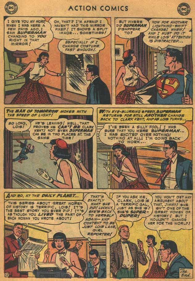 Read online Action Comics (1938) comic -  Issue #198 - 14