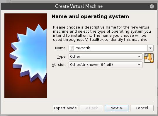 Hasil gambar untuk Install dan Konfigurasi MikroTik di VirtualBox