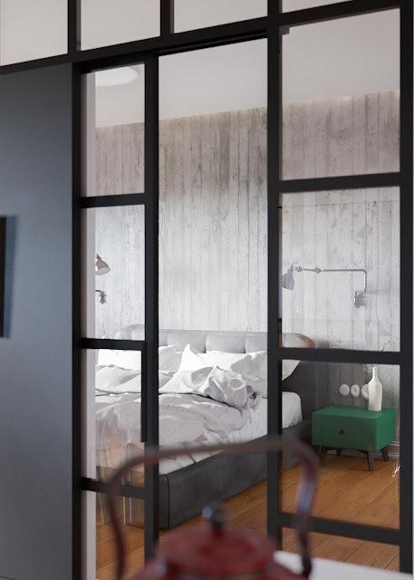 Дизайн-проекты. Эклектичная квартира в Минске