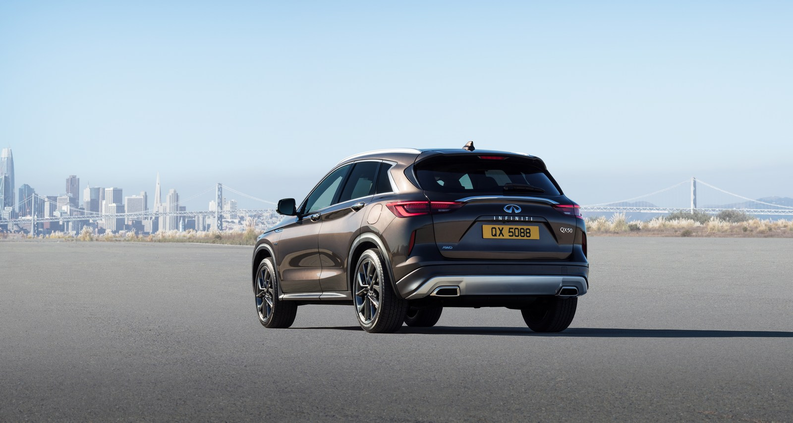 2019 infiniti qx50 bows in la with world 39 s first production variable compression engine carscoops. Black Bedroom Furniture Sets. Home Design Ideas