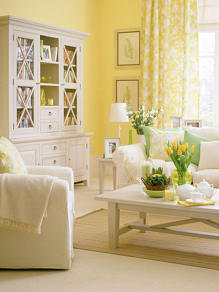Latest Drawing Room Design: New Home Interior Design: Living Room Ideas