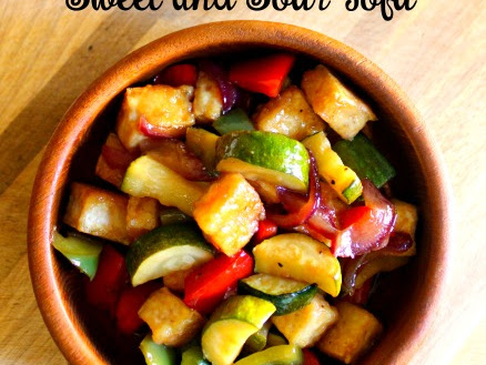 Clean Eating Sweet and Sour Tofu