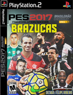 Pro Evolution Soccer BRAZUCAS 2017 (PS2)