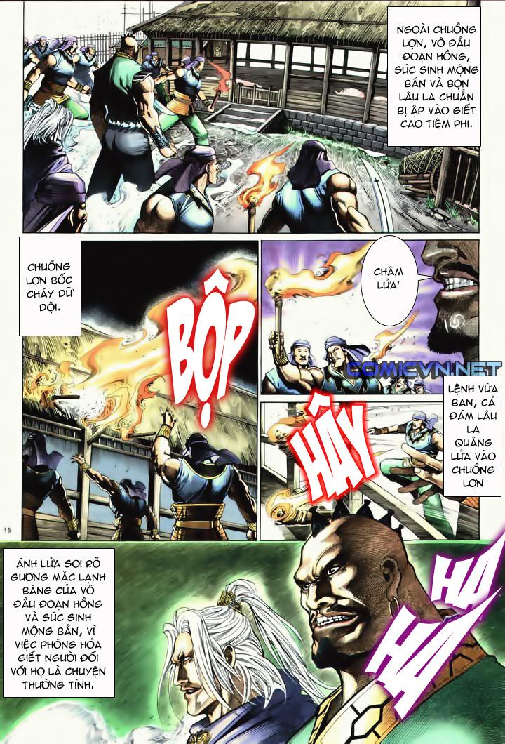 Anh hùng vô lệ Chap 10 trang 12