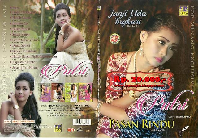 Putri - Pasan Rindu (Album Pop Minang Exclusive)
