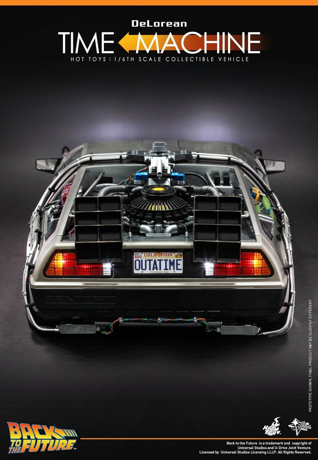 Onesixthscalepictures Hot Toys Back To The Future