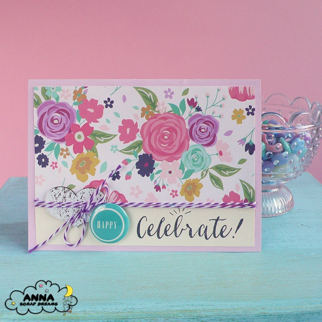 Cardmaking- Una card floreale per Scrap Dreams