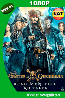 Piratas del Caribe: La Venganza de Salazar (2017) Latino HD WEB-DL 1080P - 2017