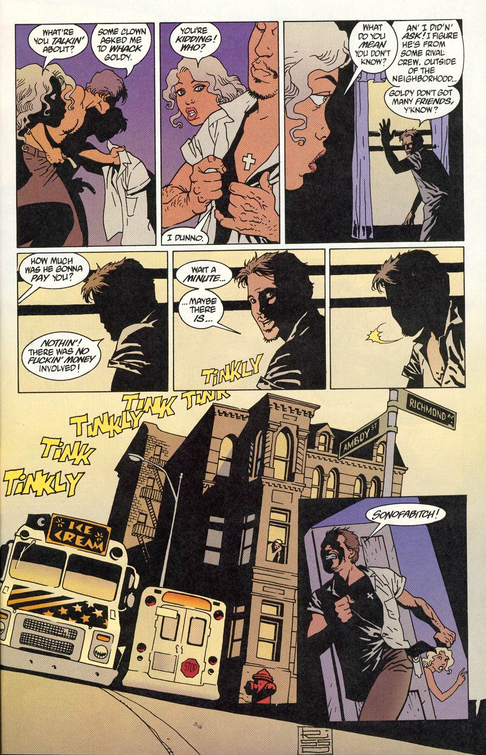 Read online 100 Bullets comic -  Issue #9 - 13
