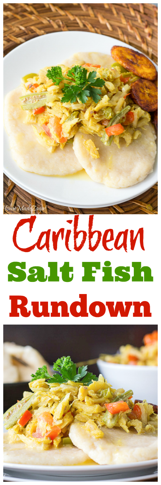Jamaican Saltfish Run Down