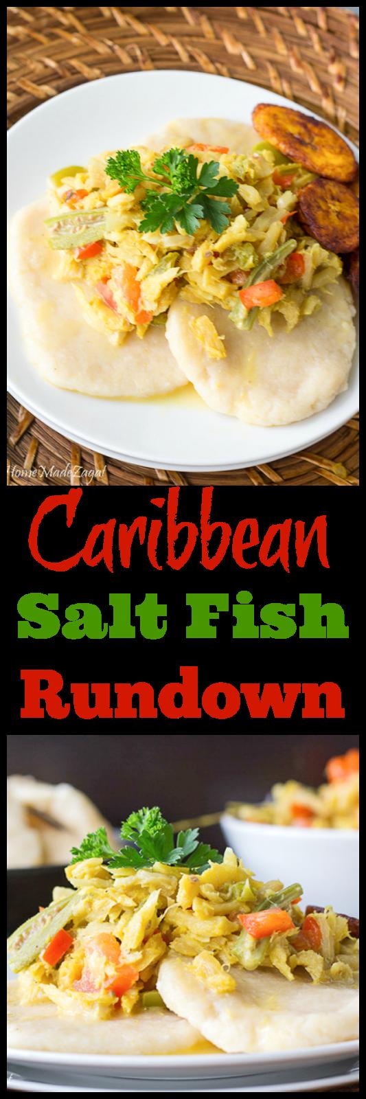 Jamaican Saltfish Run Down